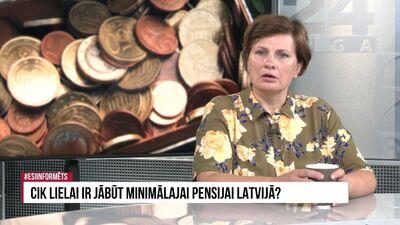Viņķele: Pensiju kapitāls ir cilvēku īpašums. Gar to gramstīties būtu nepieņemami