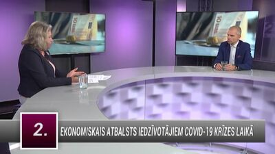 Aigars Rostovskis par ekonomisko atbalstu iedzīvotājiem Covid-19 krīzes laikā