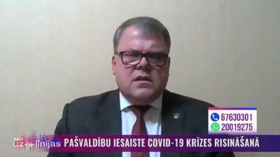 Kaminskis: Valstij vajadzētu regulāri informēt pašvaldības par aktuālo situāciju valstī