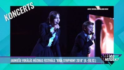 """Jauniešu vokālās mūzikas festivāls """"Rīga Symphony 2018"""""""
