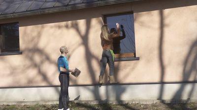 Kāpēc Jenny May berž logus?