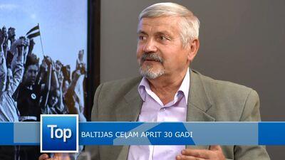 Roberts Kudiņš dalās ar atmiņām par Baltijas ceļa rīkošanu
