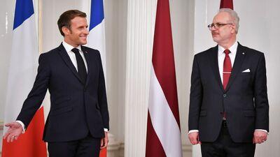 """Šmits: Makrons atbrauca pateikt - """"Krievija mums ir svarīga, jums ir jābeidz """"riet"""" """""""