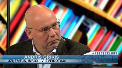 """Andris Griķis: """"Mūsu nācijai ir raksturīgi noriet visus politiķus.."""""""