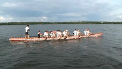 Daugavpils 100 sekundēs: Jauniešu diena, pūķu laivu festivāls..