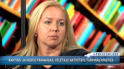Elīna Egle Ločmele par zemo vēlētāju aktivitāti
