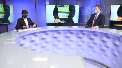 Iekšlietu ministrs stāsta par piemaksām policijai un robežsardzei
