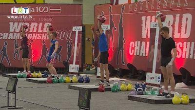 Daugavpilī aizvadīts Pasaules čempionāts svarbumbu celšanā