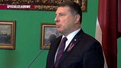 Speciālizlaidumi - Valsts prezidents paziņo nomināciju premjera amatam