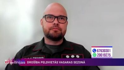 Mārtiņš Baltmanis par VUGD darbu vasaras sezonā