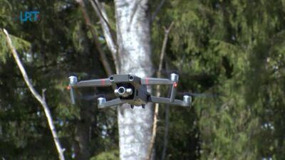 """""""Latvijas valsts meži"""" mežu apsekošanā izmanto dronus"""