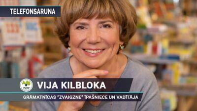 Vija Kilbloka: Pirmdien grāmatnīcas atsāks darbu drošā un normālā režīmā