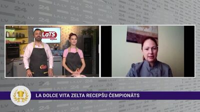 Latvijas Pavāru kluba prezidente aicina apgūt pavāra un konditora profesijas