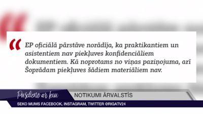 Aicina nepieļaut Putina preses sekretāra meitas darbu EP