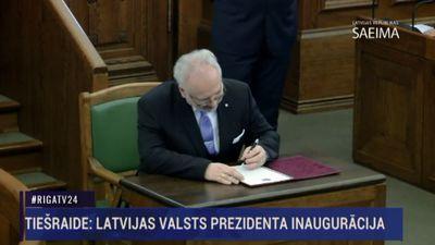 Latvijas Valsts prezidenta inaugurācija