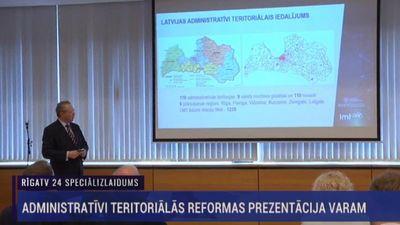 Speciālizlaidums: Sabiedrību iepazīstina ar pašvaldību reformu 1. daļa