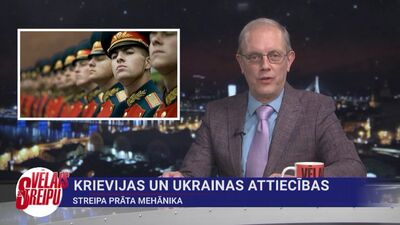 Streipa prāta mehānika: Krievijas un Ukrainas attiecības