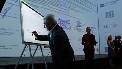 Parakstīts memorands par Eiropas digitālo inovāciju centra izveidi