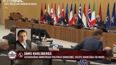 NATO aizsardzības ministru tikšanās laikā lemtais