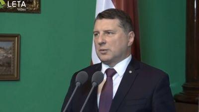 Valsts prezidenta paziņojums pēc tikšanās ar partijām