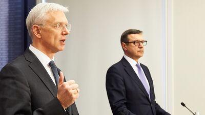 Šadurskis: Premjers un finanšu ministrs ir labi krīzes menedžeri