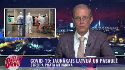 Covid-19: jaunākais Latvijā un pasaulē