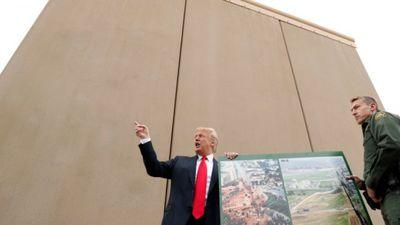 Koķe: Trampa robežmūra mērķis ir cēls - pārtraukt narkotiku tirdzniecību