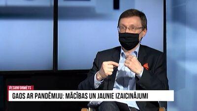 Arnis Kaktiņš par Covid-19 krīzes attīstību Latvijā