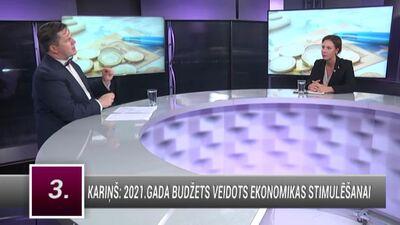Muižniece: Saeima, visticamāk,  2021. gada budžetu pieņems krietni savādāku, nekā tas ir piedāvāts