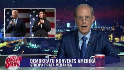 Streipa prāta mehānika: Demokrātu konvents Amerikā