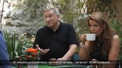 Kā Lelde Vikmane iepazinās ar tagadējo vīru - francūzi Ēriku?
