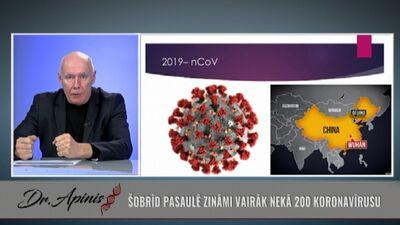 Viss, kas jāzina par koronavīrusu!