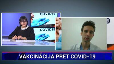 Kam nevar veikt vakcīnu pret Covid-19?