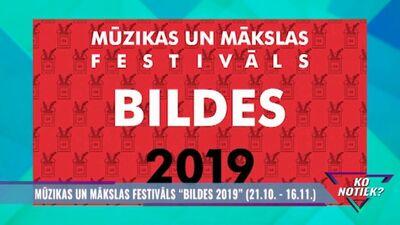 """Mūzikas un mākslas festivāls """"Bildes 2019"""""""