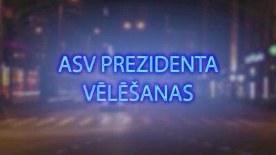 Tvitersāga: ASV prezidenta vēlēšanas