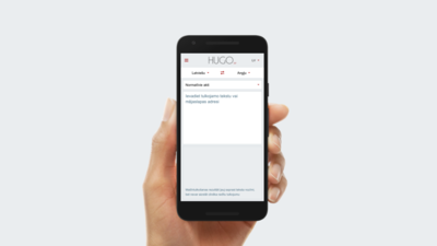 Melbārde: Latvijā izstrādātais Hugo.lv tulko labāk nekā Google Translate
