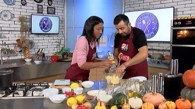 Aktrises Aminatas Grietas Diarras triks citrona miziņas rīvēšanai