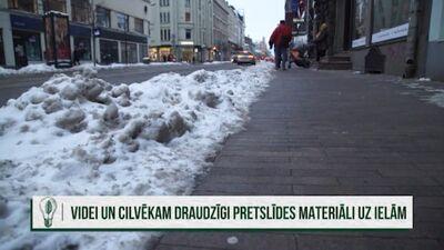 Edmunds Cepurītis par sāls kaisīšanu Rīgas ielās