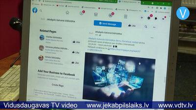 Jēkabpils Galvenā bibliotēka piedāvā Digitālās nedēļas aktivitātes
