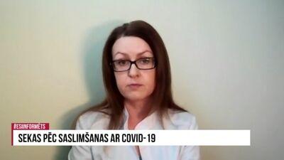 Sekas pēc saslimšanas ar Covid-19
