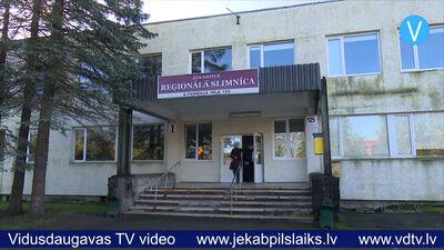 Jēkabpils reģionālajai slimnīcai lielāka noslodze