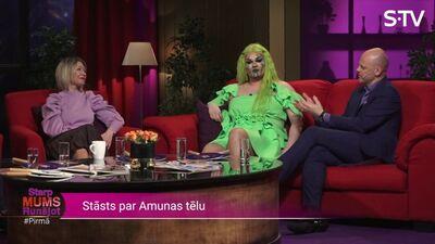 Amuma Davis atklāti par savu tēlu -  drag queen