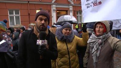 Speciālizlaidums: Mediķu protesta akcija pie Saeimas 2. daļa