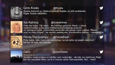 Tvitersāga: Mītiņš Ušakova aizstāvībai