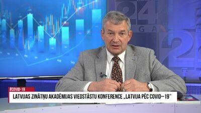 """Latvijas Zinātņu akadēmijas viedstāstu konference """"Latvija pēc Covid-19"""" 1. daļa"""