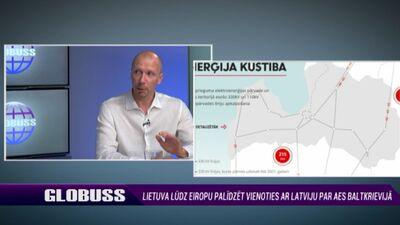 Āboltiņš: Astravjecas AES darbība nav kritiski svarīgs elements Latvijas energoapgādei