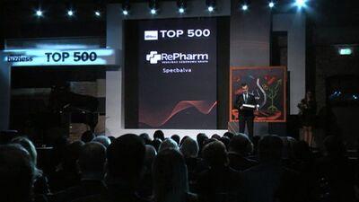 Dienas Bizness: Uzņēmumu Top 500 apbalvošanas ceremonija