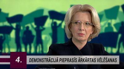 """""""Dzeltenās vestes"""" Latvijā. Mūrniece: Izvēlētā protesta diena nav sagadīšanās"""