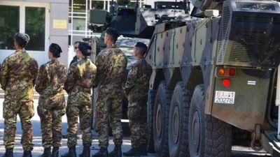 NATO kaujas grupai Latvijā pievienojušies karavīri no Melnkalnes