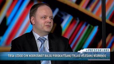 Ilmārs Poikāns par RD vēlēšanu balsu pārskaitīšanu